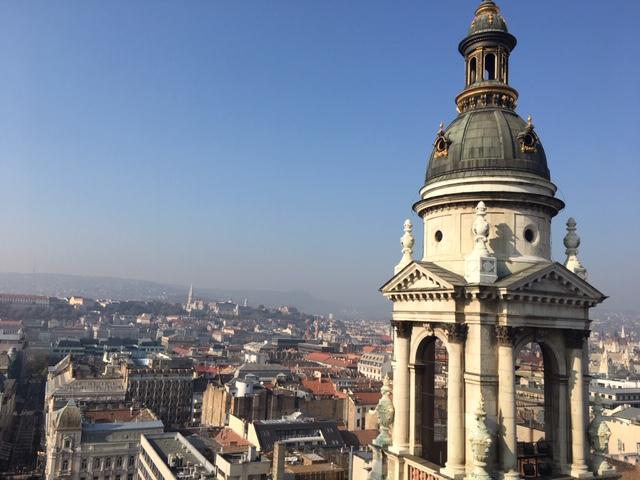 Basilica Sf Stefan - privire din turn